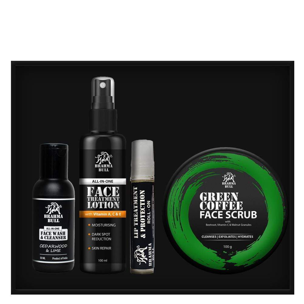 Complete Face Care Set - Brahma Bull - Men's Grooming