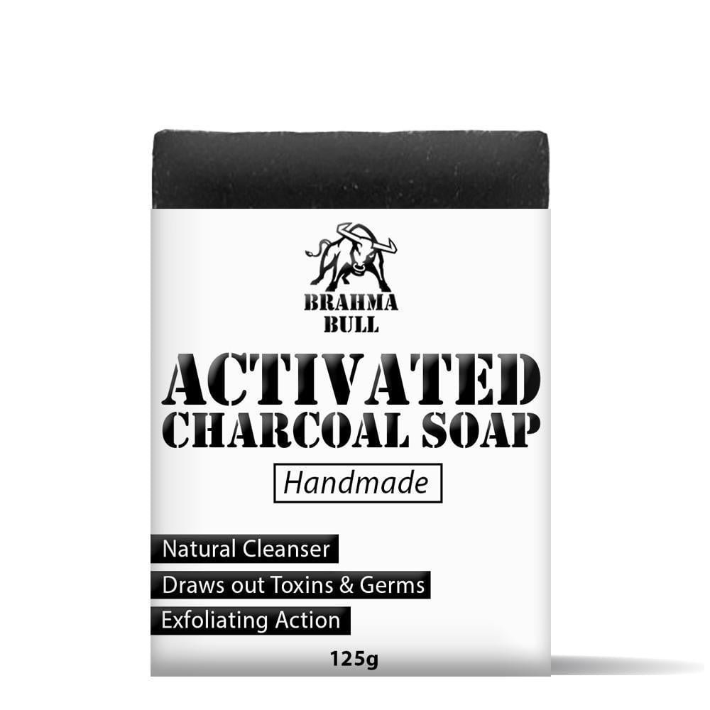 Activated Charcoal Soap - Brahma Bull - Men's Grooming