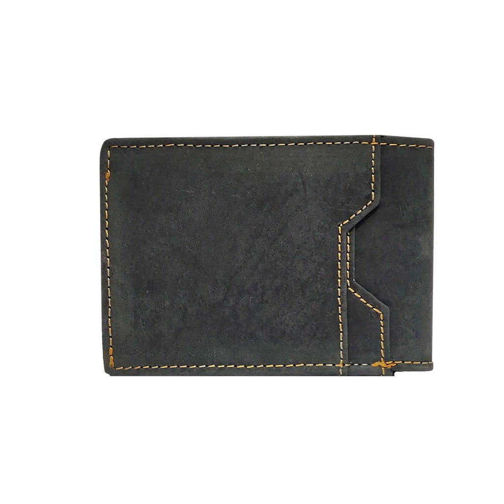 Brahma Bull Slim Edition Multi Purpose Leather Wallet - Charcoal - Brahma Bull