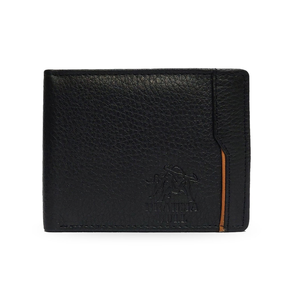 Brahma Bull Ignacio Edition - Black Leather Wallet - Brahma Bull