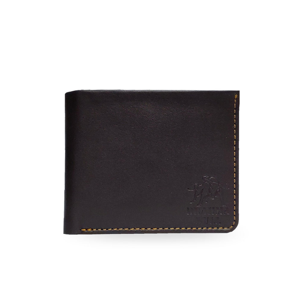 Brahma Bull Hawaiian Soft Leather Wallet - Top Brown - Brahma Bull