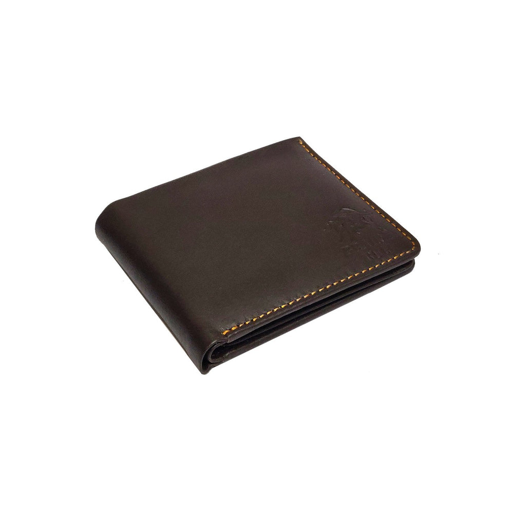 Brahma Bull Hawaiian Soft Leather Wallet - Top Brown - Brahma Bull - Men's Grooming