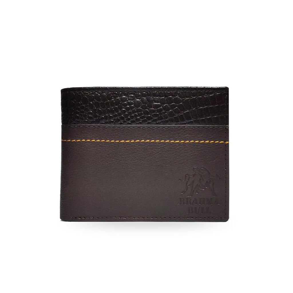 Brahma Bull The Conqueror Edition - Brown Leather Wallet - Brahma Bull
