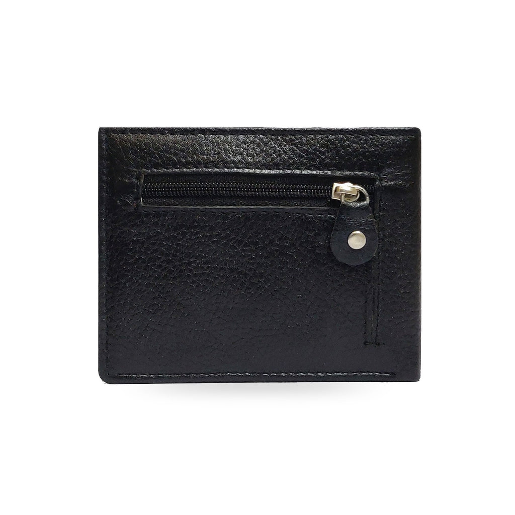 Brahma Bull Eagle Black Leather Wallet - Brahma Bull