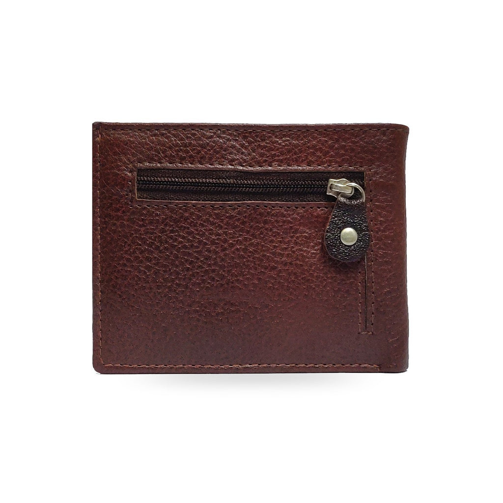 Brahma Bull Eagle Brown Leather Wallet - Brahma Bull - Men's Grooming
