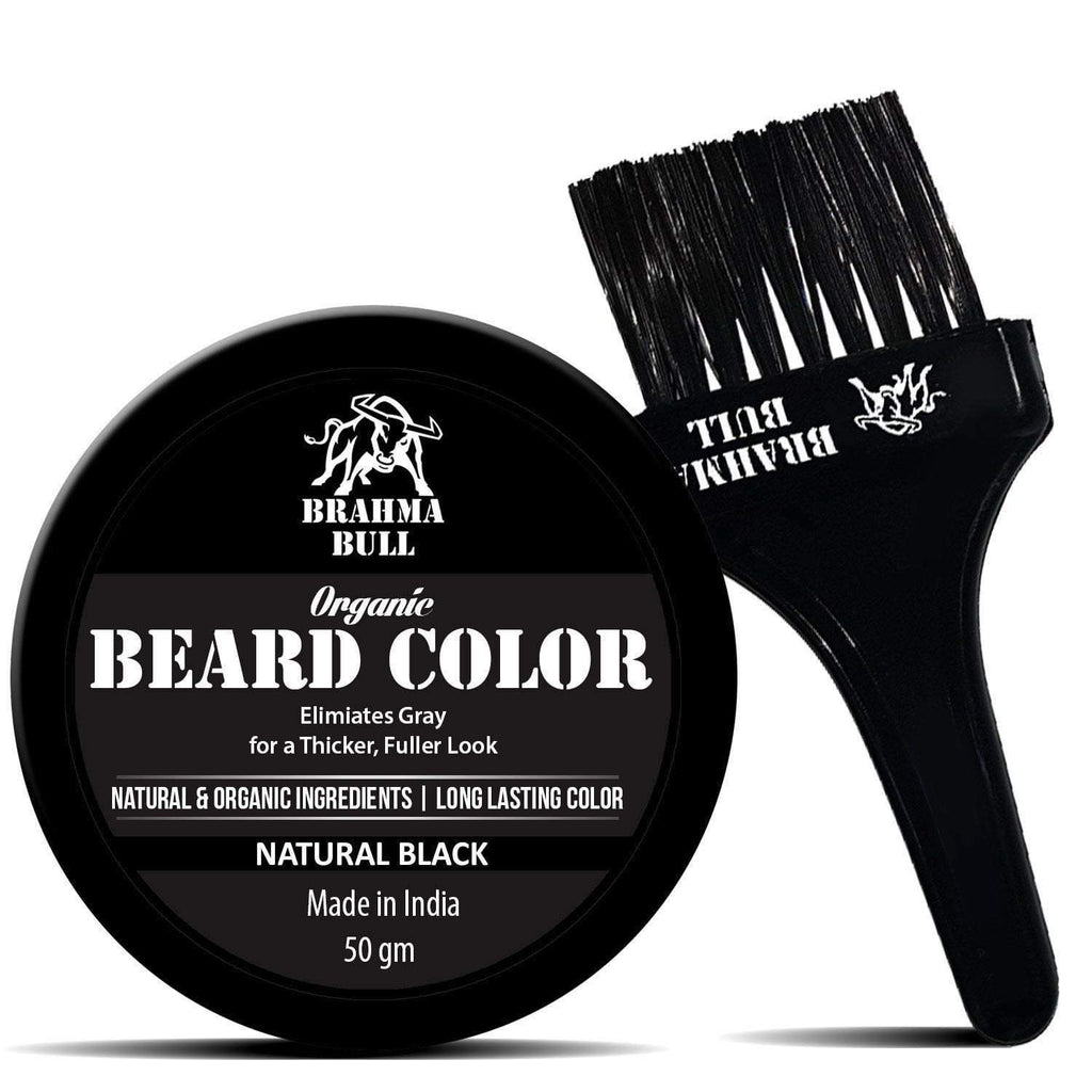 Organic Beard Color (Natural Black) - Brahma Bull - Men's Grooming