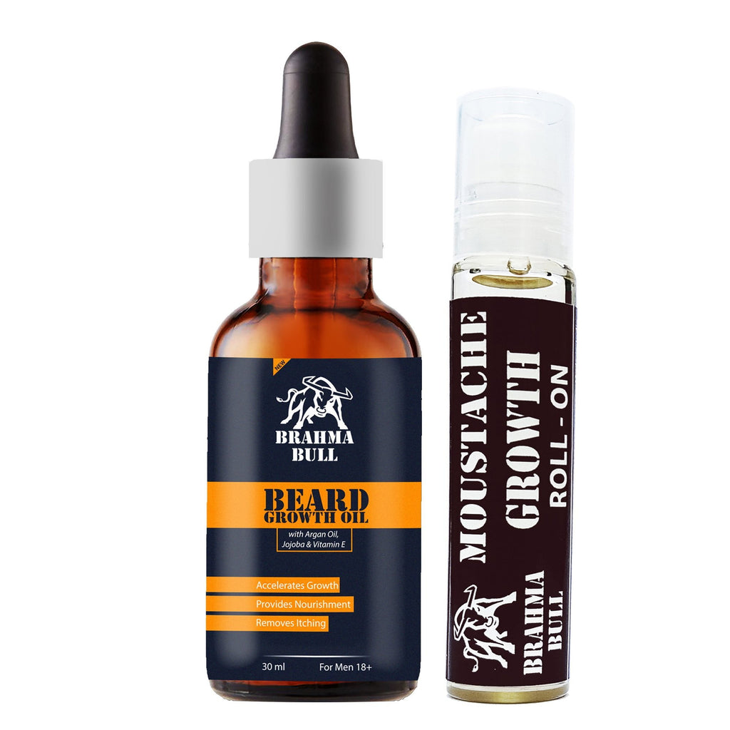Facial Hair Growth Kit - Brahma Bull - Men's Grooming