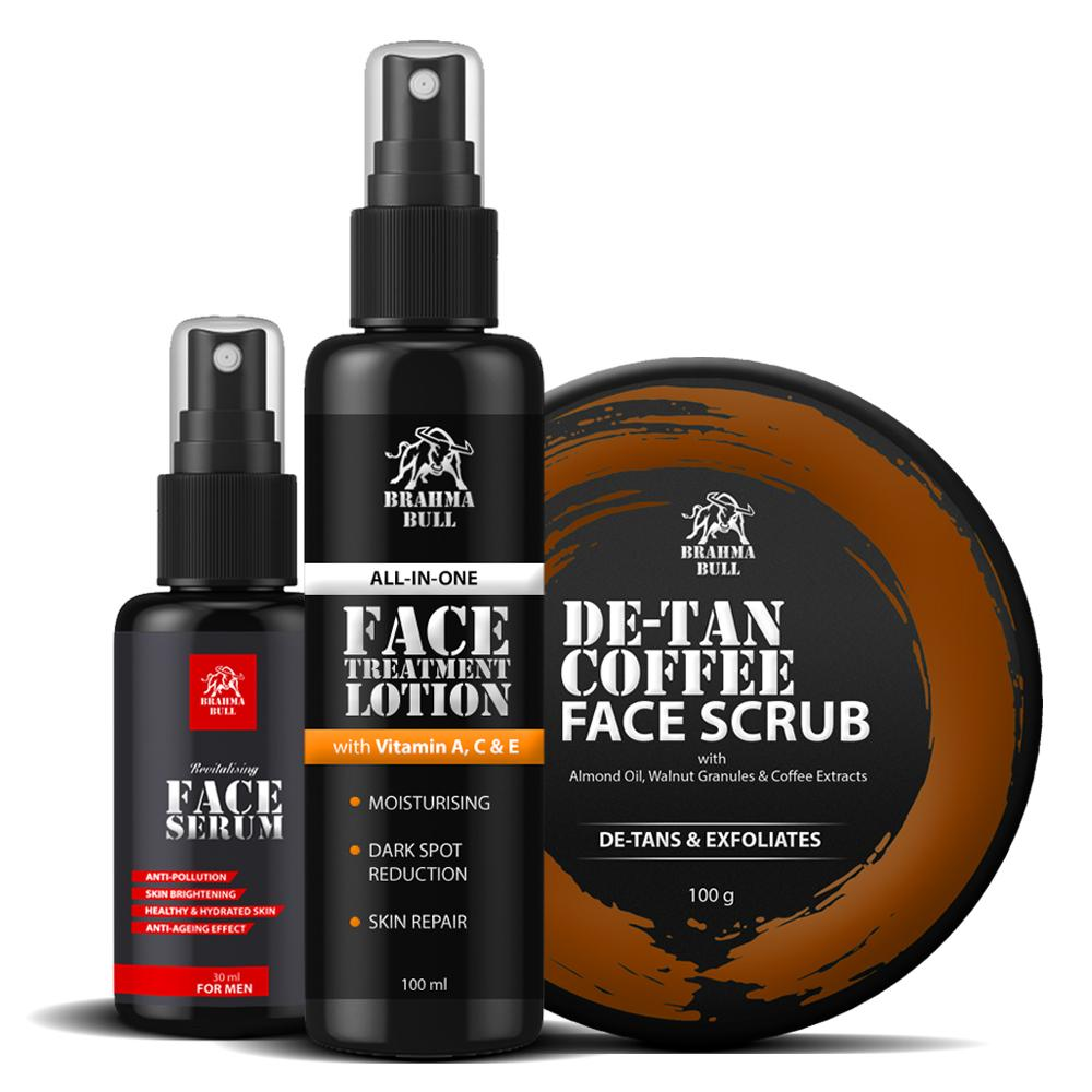 Utra Face Glow Pack - Brahma Bull - Men's Grooming