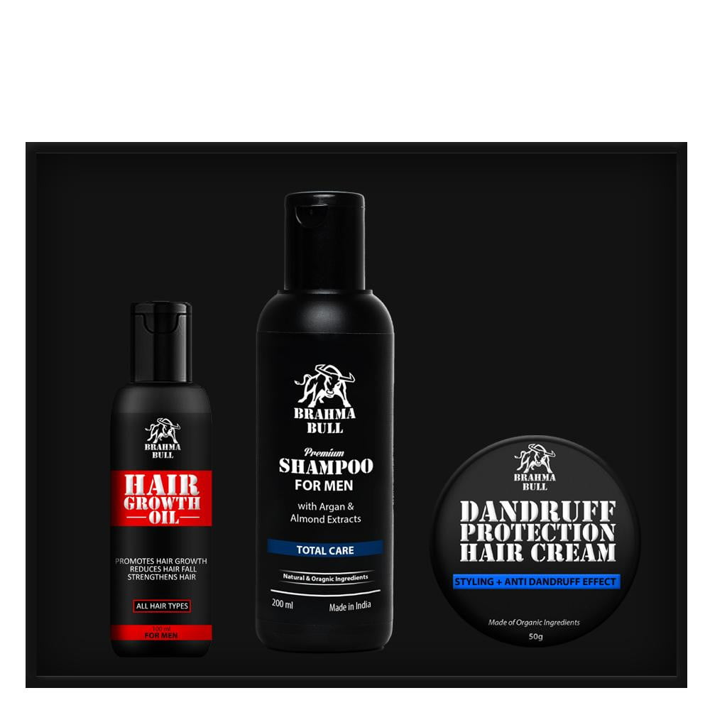 The Great Hair Care Set - Brahma Bull - Men's Grooming