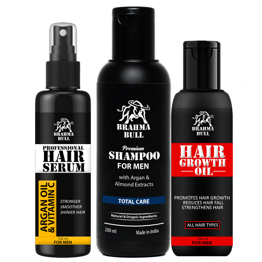 Hair Treatment Kit - Brahma Bull - Men's Grooming