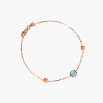 14K Rose Gold Single Stone Belgravia