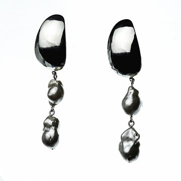 Silver earrings Libella
