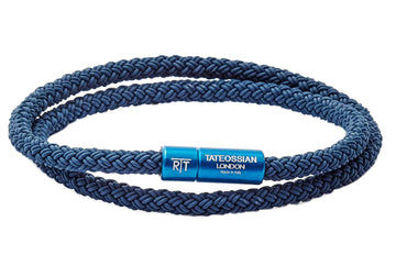 NOTTING HILL RUBBER CABLE BRACELET