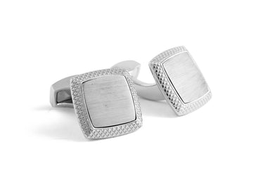 SATIN QUADRATO CUFFLINKS- CL6461