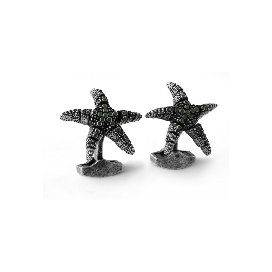 MECHANICAL STARFISH CUFFLINKS