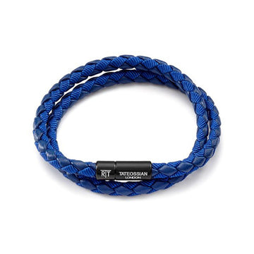 Chelsea Bracelet in Blue Eco-Leather