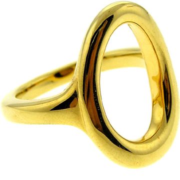 18k Gold plated Pebble Ring
