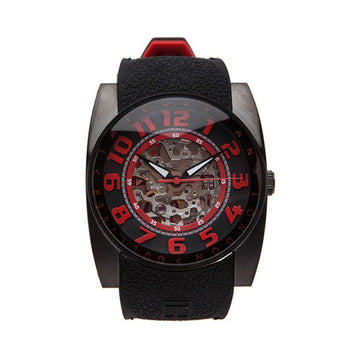 Gulliver Skeleton Sport Watch in Red