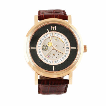 AUTOMATIC WATCH - ROSE GOLD IP