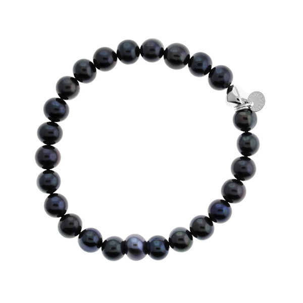 Tateossian London Blue Pearls Bracelet