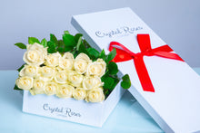 Fresh Cut White Roses - Gift Box