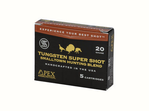 "Small Town Hunting Blend 20: 3"" 20 gauge 1-5/8oz #7.5,9 Qty: 5 per box"