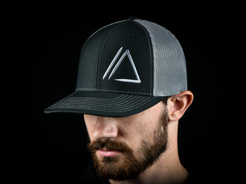 Apex Logo Hat V.2 Black/Gray