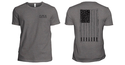 "American Flag ""Duck"" Shotshell T- Shirt"