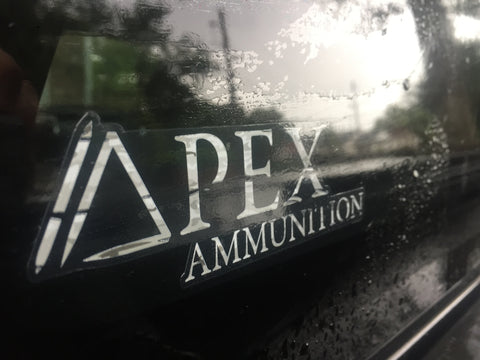 Apex Ammunition Sticker