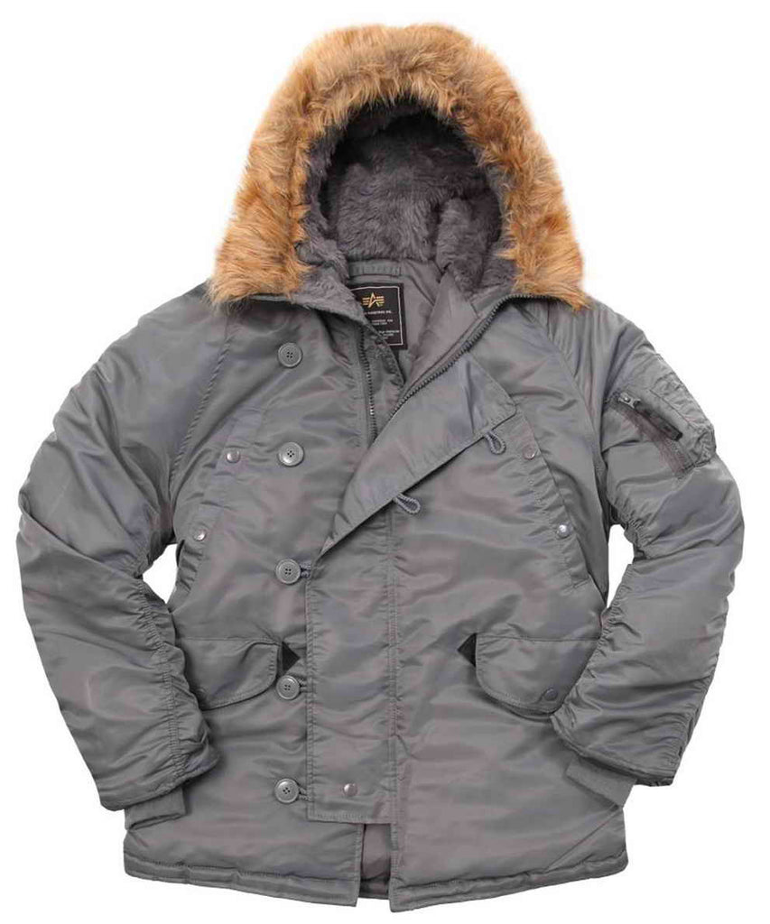 Original ALPHA INDUSTRIES USA N-3B Parka EXTREME COLD