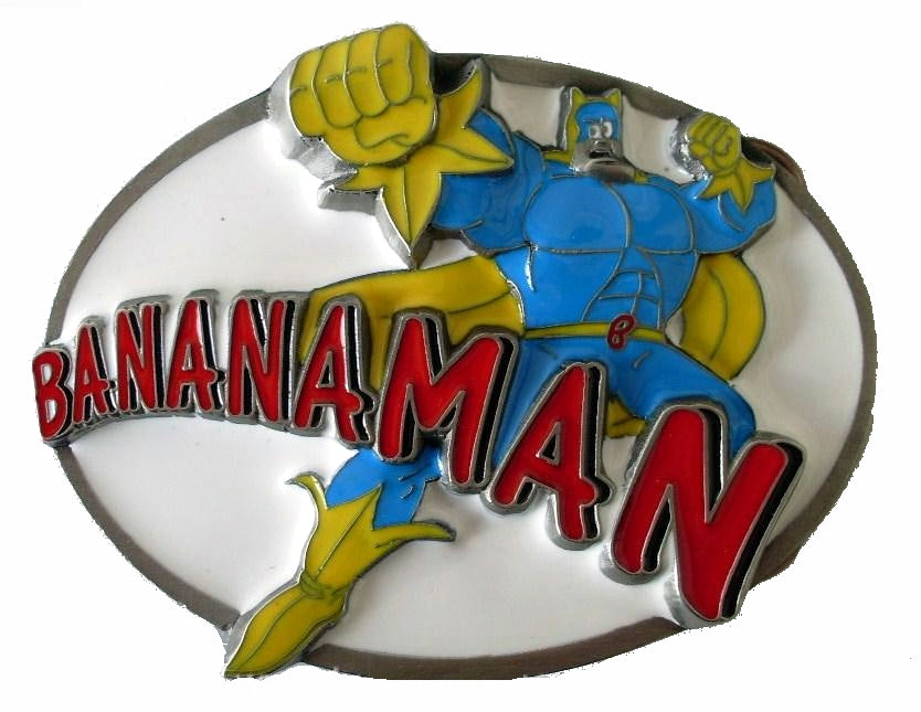 BANANA-MAN Collectible Rare Official - Belt BUCKLE