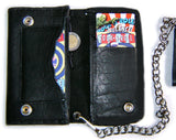 Leather WALLET Classic Special 5 Compartments