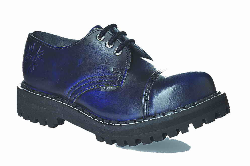 BLUE URBAN 3-eyelet Shoes Steel Toe
