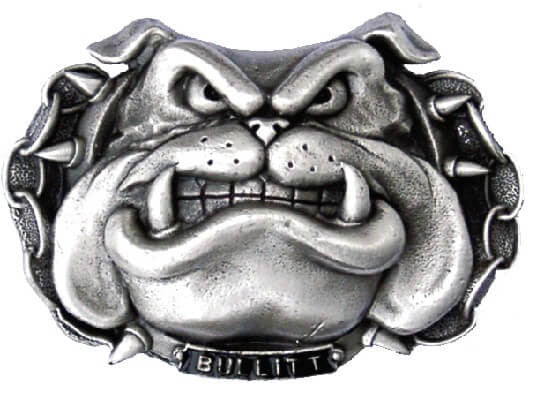 BULLDOG BULLIT Super 3D Belt BUCKLE