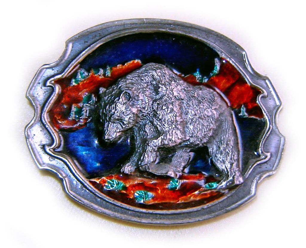 WESTERN SERIES: GRIZZLY BEAR Belt BUCKLE SUPER SALE!
