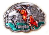 WESTERN SERIES: RODEO BULL Belt BUCKLE SUPER SALE!