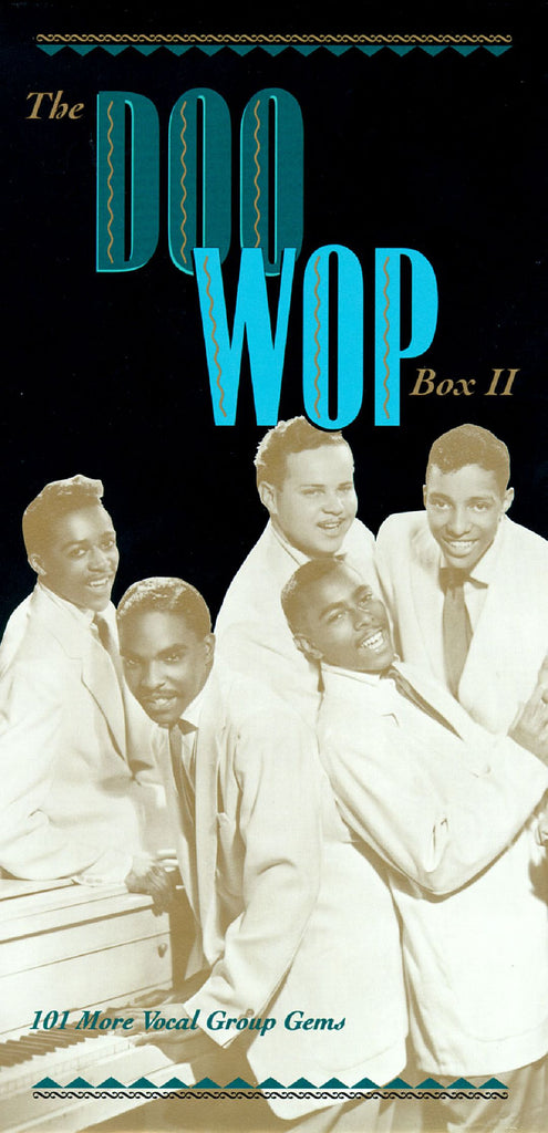 Various - Doo Wop Box II - 101 More Vocal Group Gems 4-CD BOX