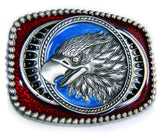 EAGLE HEAD WESTERN XL Country Style Belt BUCKLE