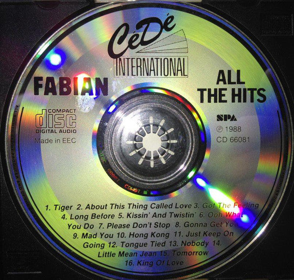 FABIAN - ALL THE HITS Super Budget price!
