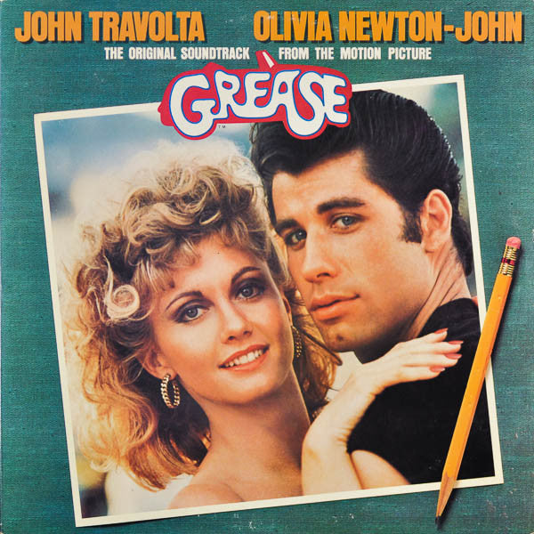 GREASE - ORIGINAL MOVIE SOUNDTRACK CD Super Classic!