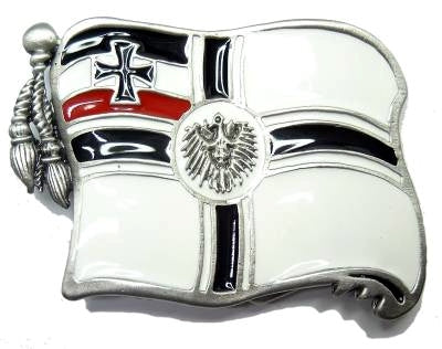 GERMAN EMIPRE Battle FLAG Belt BUCKLE II