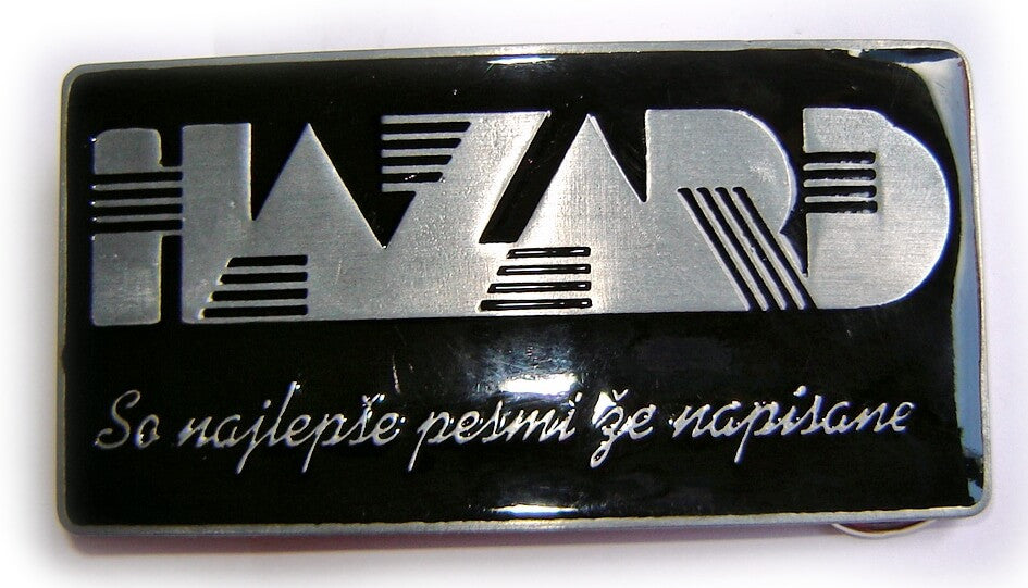 "HAZARD ""So najlepse pesmi ze napisane"" LIMITED EDITION Belt BUCKLE"