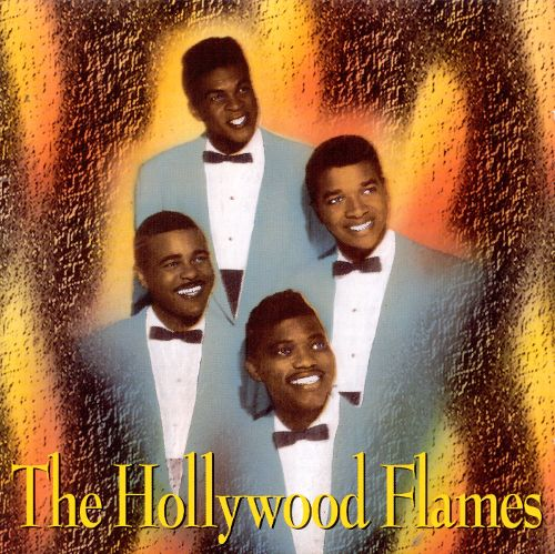 HOLLYWOOD FLAMES (THE) - Fantastic 28 tracks DOO WOP Rare CD