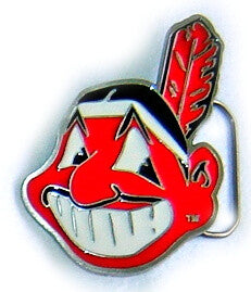 INDIANS Basseball Official Licensed Belt BUCKLE