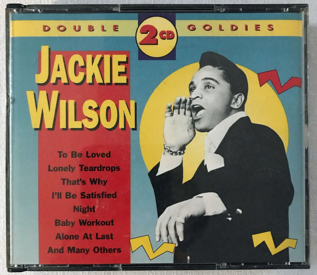 JACKIE WILSON - DOUBLE GOLDIES 2CD Exceptional Very Rare CD