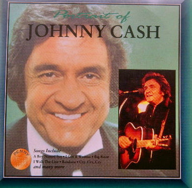 "JOHNNY CASH - ""The Portrait of...""  Super Budget Price CD"