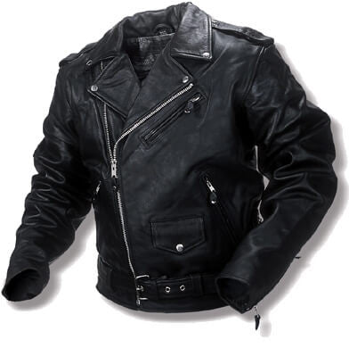 Classis 1950' ROCKER-BIKER-ROCKABILLY Leather Jacket