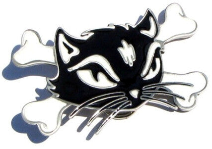 KITTY CAT Rockabilly Pin Up Special Belt BUCKLE