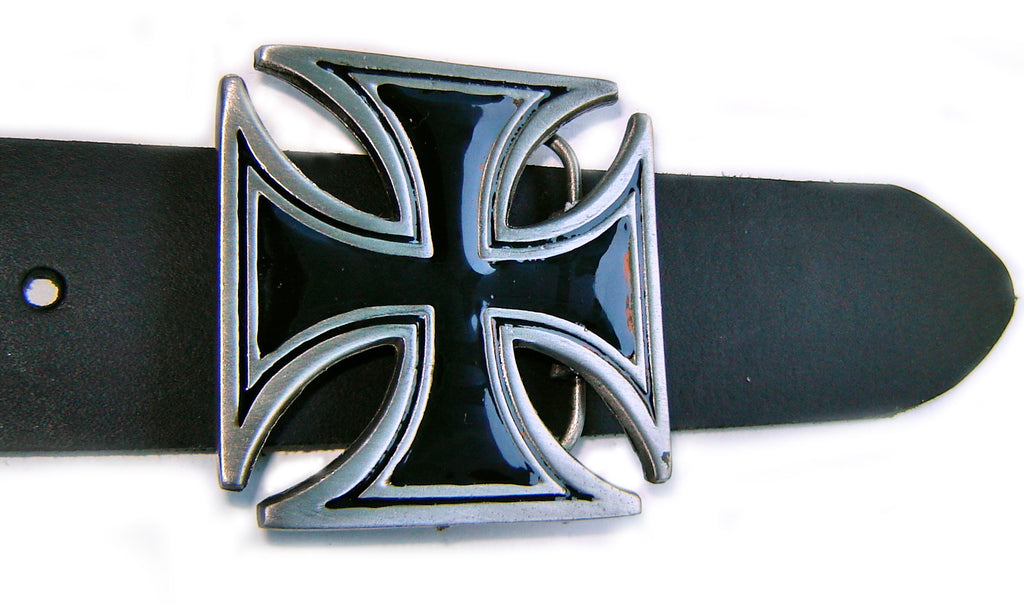 "MALTESE CROSS OF HONOR Super CLASSIC Belt BUCKLE ""EISERNES KREUZ"""