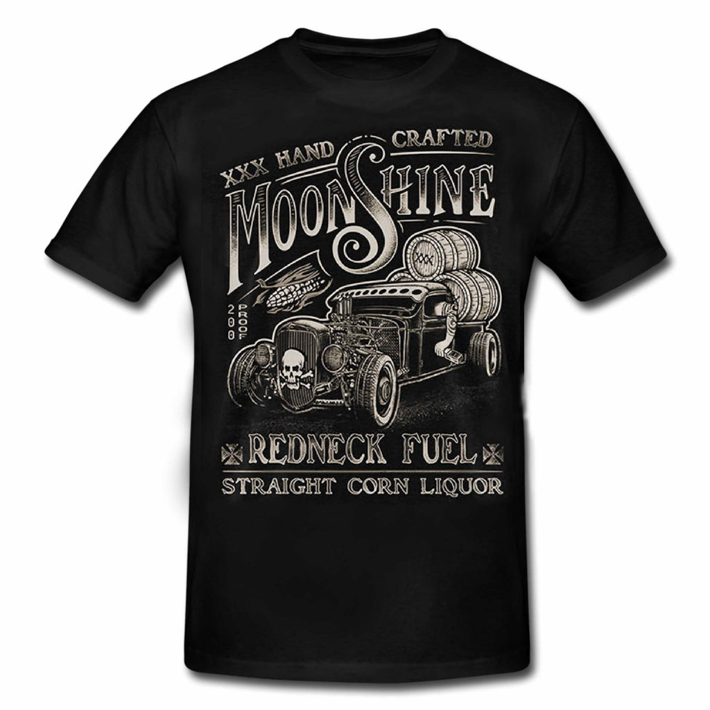 MOONSHINE - REDNECK FUEL Hot Rod Special Edition T-Shirt MENS